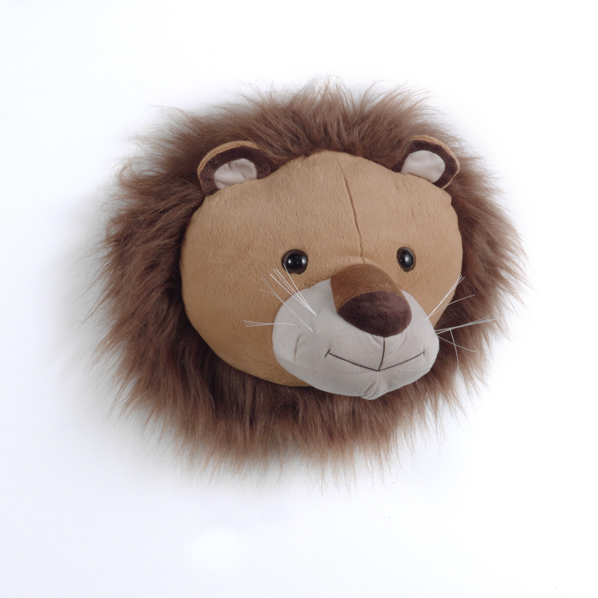 Lion Plush Head