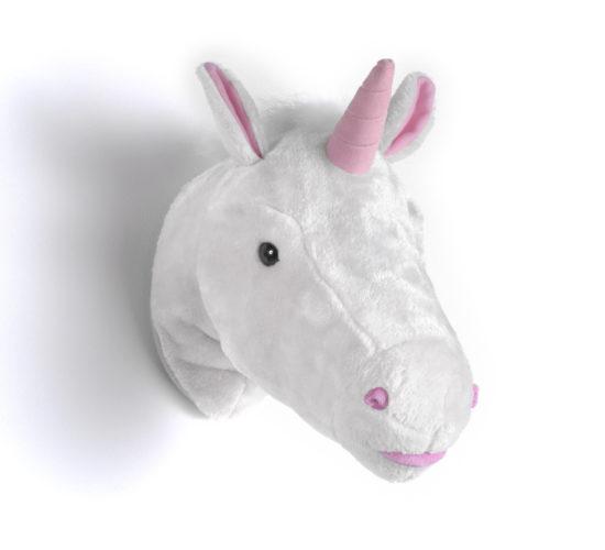 Unicorn Plush Head