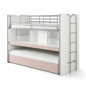 Bentley Compact 3-in-1 Bed - Pink