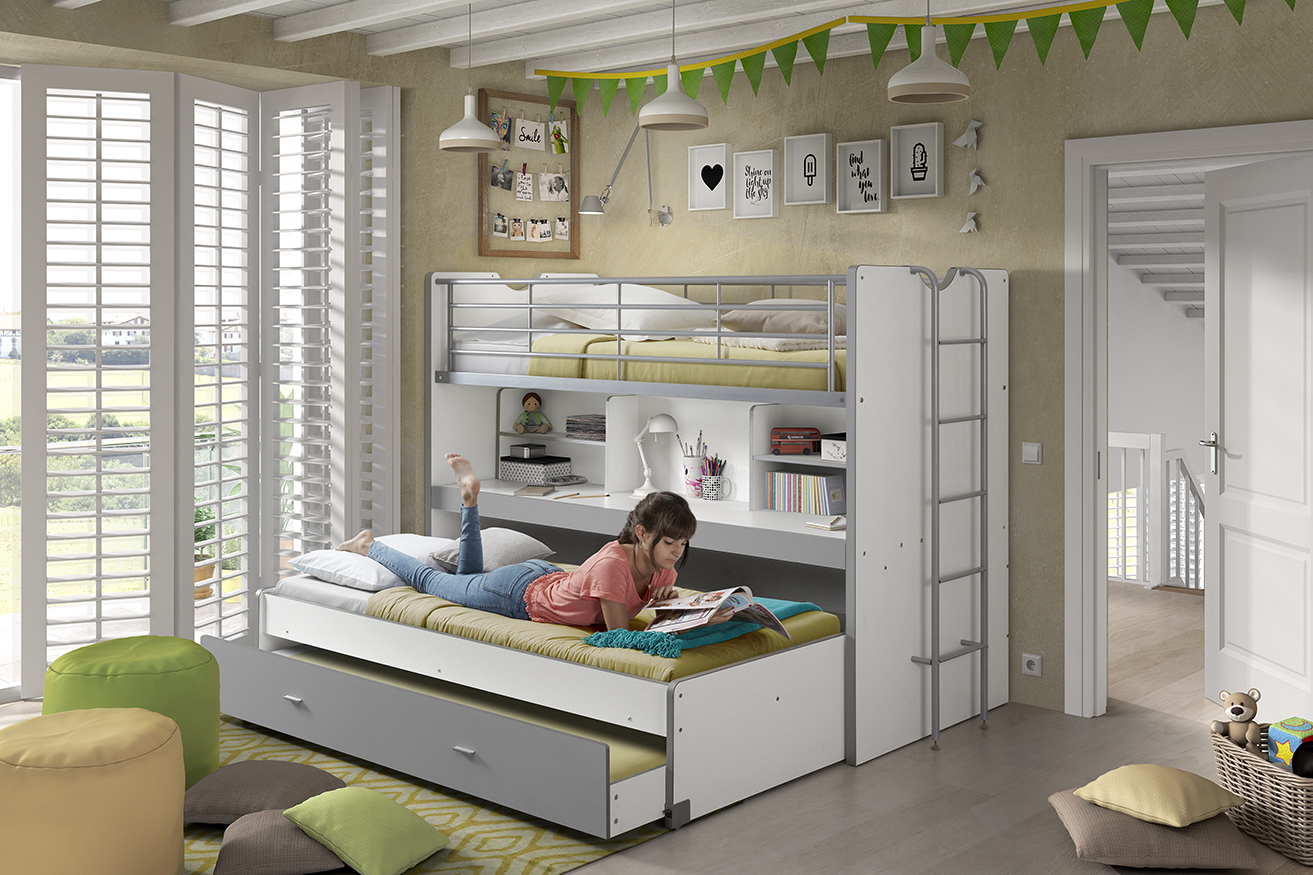 E Saver Bunk With Trundle Bed