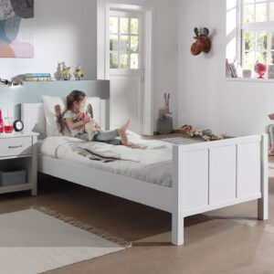 Kennedy Single Bed - White