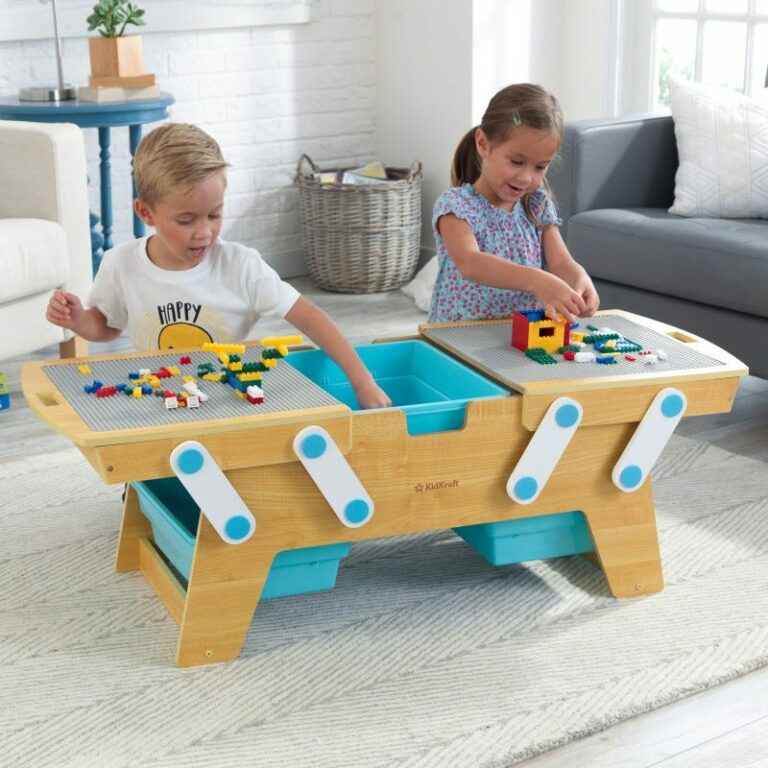 Building Bricks Play & Store Table