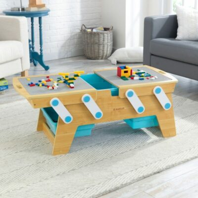 Building Bricks Play & Store Table