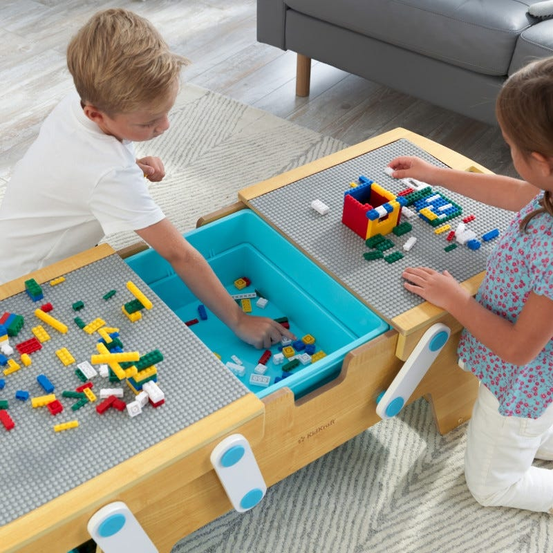 Building Bricks Play N Store Table Lego KidKraft