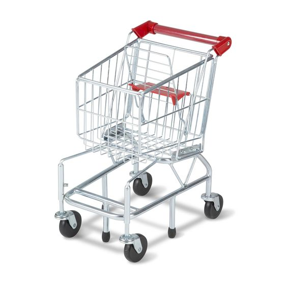 Toy Shopping Cart - Metal