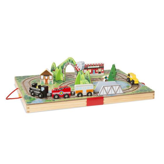 Take-Along Railroad Set