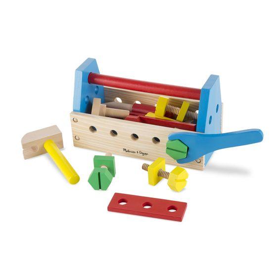Take-Along Wooden Tool Kit