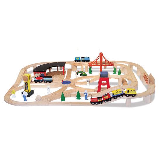 Railway Train Set