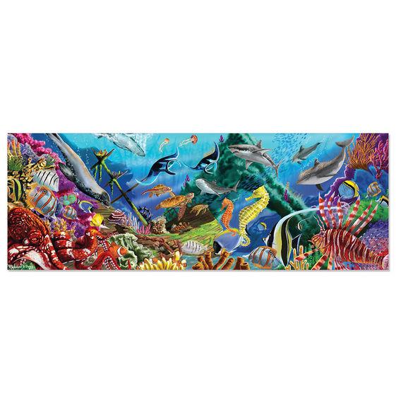 Underwater Oasis Floor Puzzle - 200 pieces