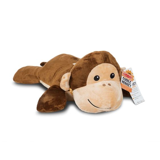Cuddle Monkey Jumbo Plush Animal