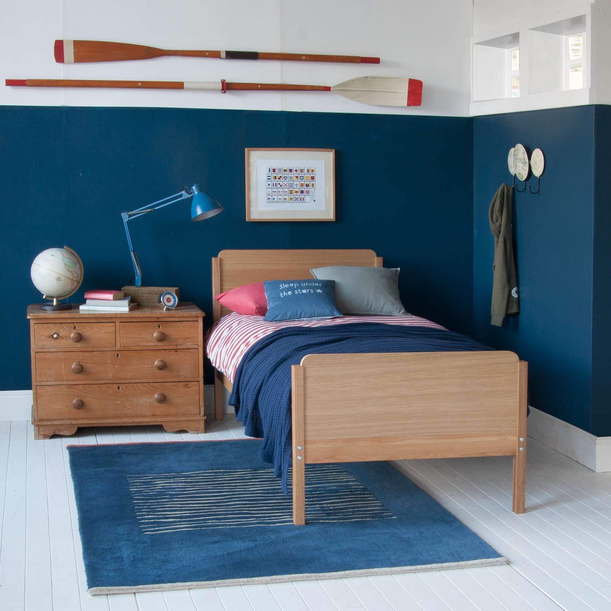 Edit Single Bed - Oak by Little Folks