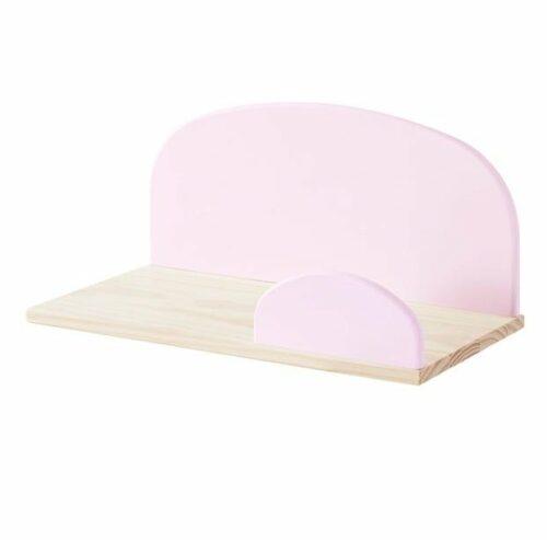 Hallie Wall Shelf - Pink (Small)