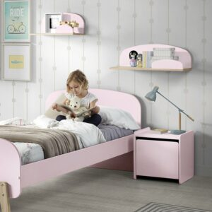 Hallie Wall Shelf - Pink (Small)
