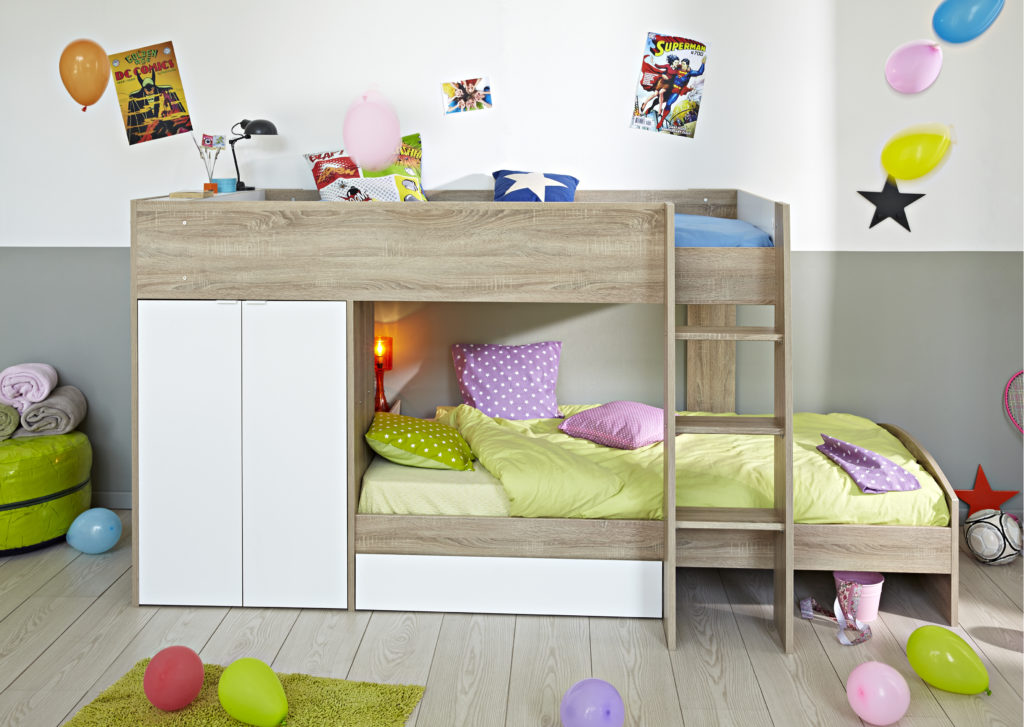 Shared Space for Siblings Ellio Bunk Bed