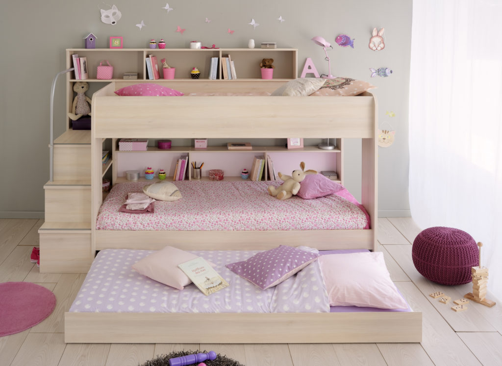 Shared Space for Siblings Anderson Bunk Bed, Acacia