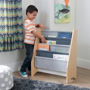 Sling Bookcase - Grey by KidKraft