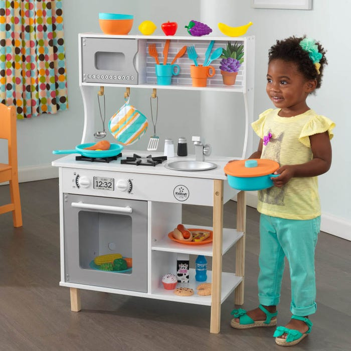 All Time Wooden Play Kitchen by KidKraft
