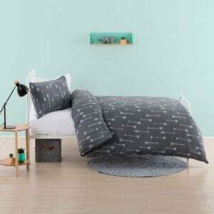 Arrows Duvet Set - Grey (3/4)