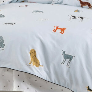 Dogs For Days Duvet Set (Single)
