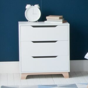 Edit Chest of Drawers - White/Natural  by Little Folks