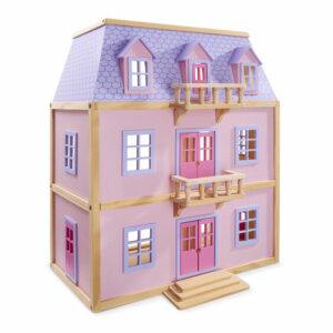 Multi Level Wooden Dolls House