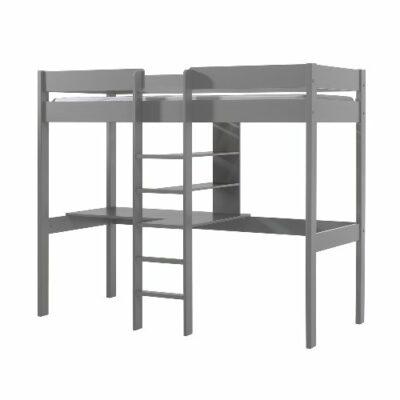 Skyler High Sleeper Bed - Grey