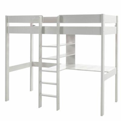 Skyler High Sleeper Bed - White