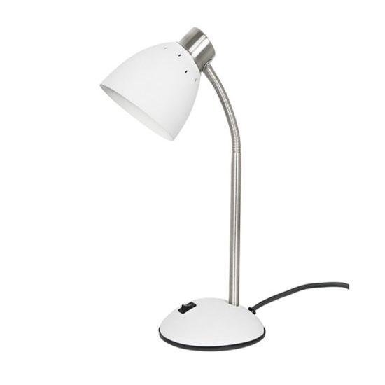 Dorm Desk Lamp - White