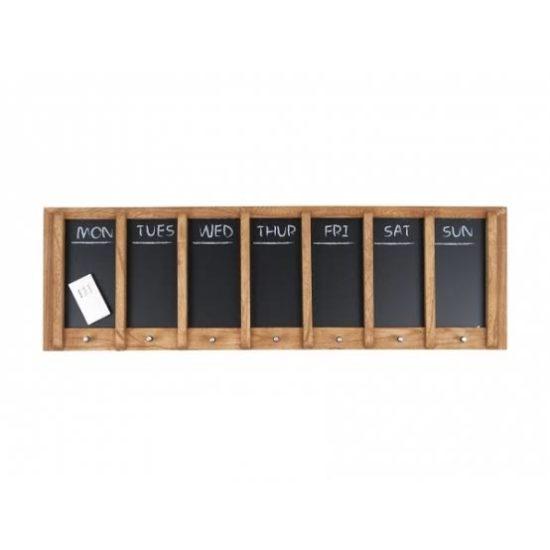 Chalkboard Hanging Weekly Planner