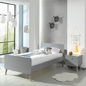 Billy Single Bed - Grey