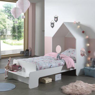 Casa Single Bed - White