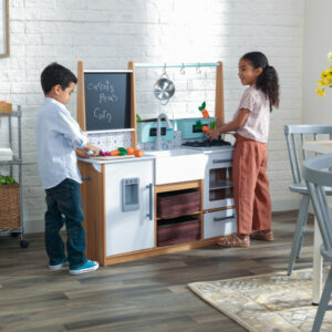 Farmhouse Play Kitchen by KidKraft - ARRIVING MID APRIL, PRE-ORDER NOW TO AVOID DISAPPOINTMENT