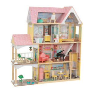 Lola Mansion Dolls House with Furniture by KidKraft