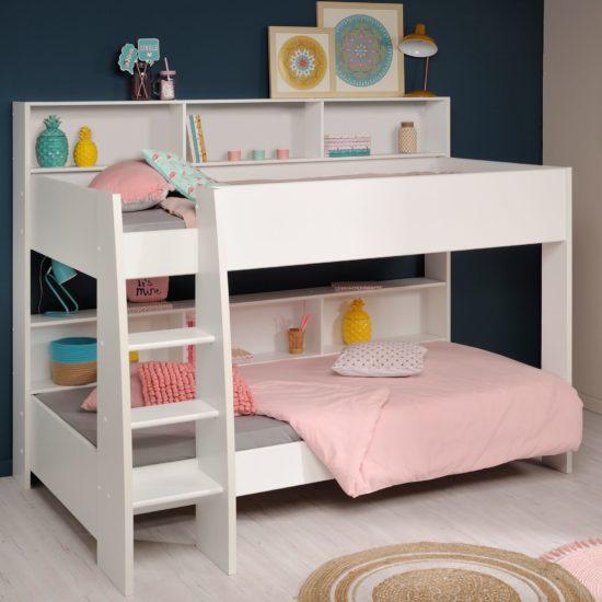Mia Bunk Bed - White