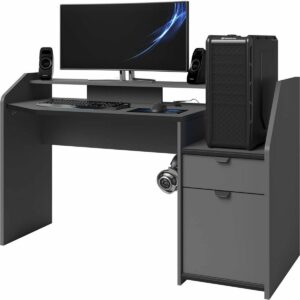 Midi Gaming Desk - ARRIVING MID APRIL, PRE-ORDER NOW TO AVOID DISAPPOINTMENT