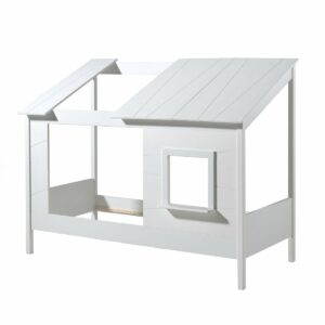 "Water Mill House Bed with ""Skylight"" & Window - White"