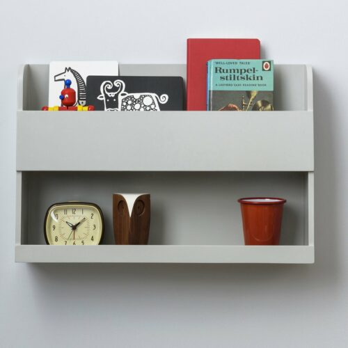 Bunk Bed Buddy Shelf™ - Pale Grey by Tidy Books®