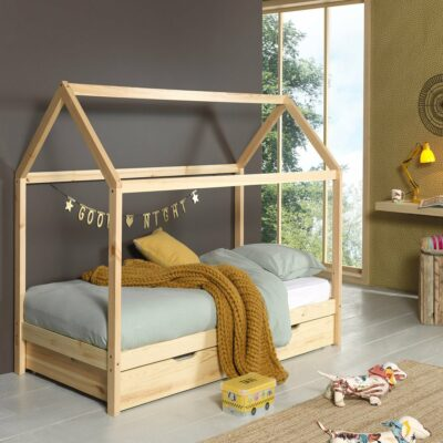 Dallas Ranch Bed - Natural