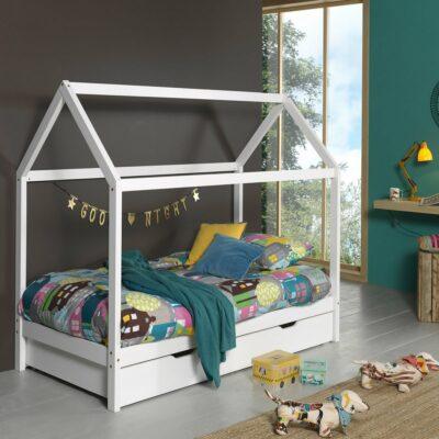 Dallas Ranch Bed - White