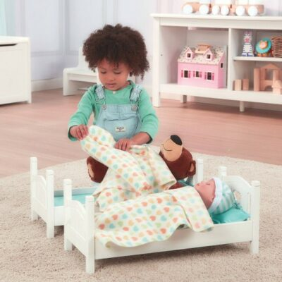 Dolls Bunk Bed - White