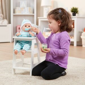 Dolls High Chair - White