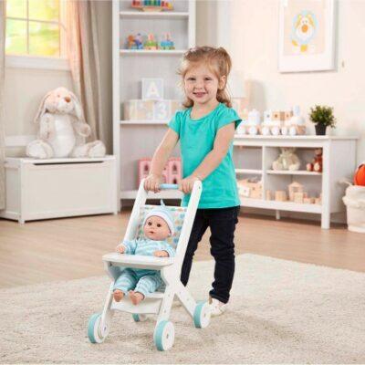 Dolls Stroller - White