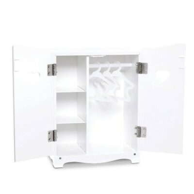 Dolls Wardrobe - White