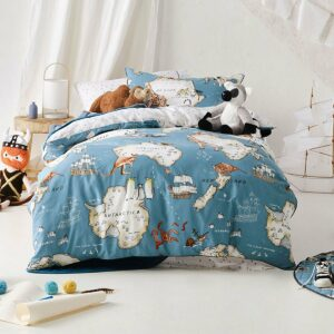 World Voyager Duvet Set - (3/4)