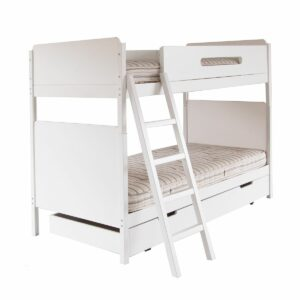 Edit 4-in-1 Combo Bunk Bed - White by Little Folks