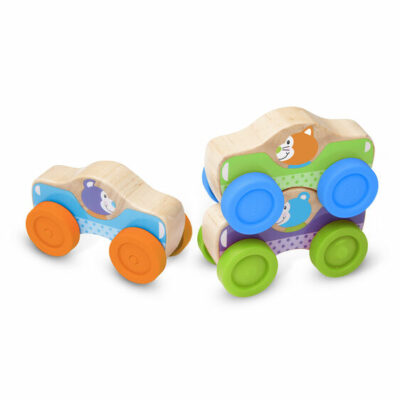 First Play Animal Stacking Cars