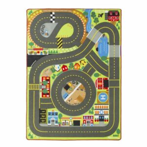 Jumbo Roadway Activity Rug incl Signs
