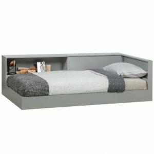 Metro Corner Bed - Concrete Grey