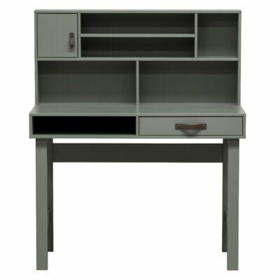 Urban Desk with Hutch - Dark Hunter