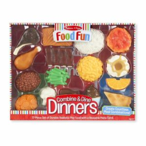 Combine & Dine Dinners (17 piece set) - Red